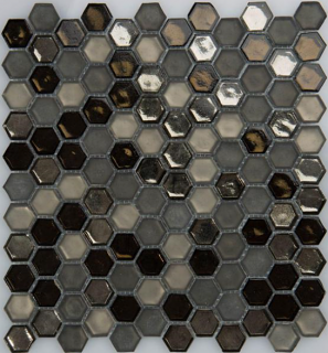 "Milstone - New Haven Hexagon Mosaic 3002729 (11""x11.69"" Sheet)"