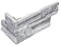 "6""x18"" Nordic Crystal Ledger Stone Assembled Corner 76-380"