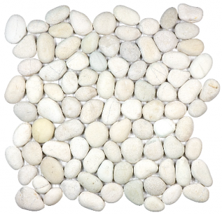 Anatolia - Spa Serenity Ivory Natural Pebble Mosaic Tile