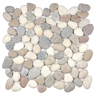 Anatolia - Spa Harmony Warm Blend Natural Pebble Mosaic Tile