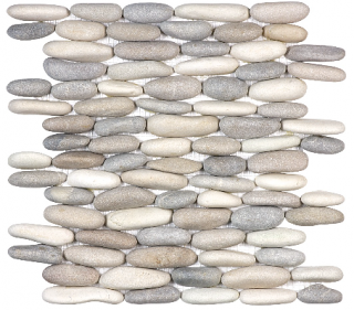 Anatolia - Spa Harmony Warm Blend Stacked Pebble Mosaic Tile