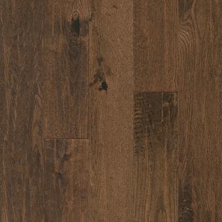 "Hartco - American Scrape 3/4""x5"" Great Plains Solid Red Oak Hardwood Flooring"