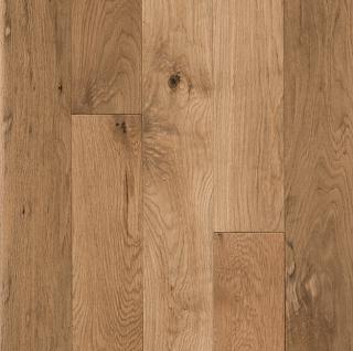 "Hartco - American Scrape 3/4""x5"" Natural Solid White Oak Hardwood Flooring"