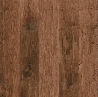"Hartco - American Scrape 3/4""x5"" Clover Honey Solid Hickory Hardwood Flooring"