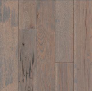 """Hartco - American Scrape 3/4""""x5"""" Ocean Mist Solid Hickory Hardwood Flooring"""