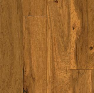 """Hartco - American Scrape 3/8""""x5"""" Amber Grain Hickory Engineered Hardwood Flooring w/ Densitek"""
