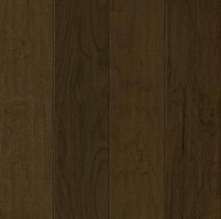 "Hartco - American Scrape 1/2""x5-3/4"" Dark of Midnight Walnut Engineered Hardwood Flooring w/ Densitek"