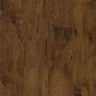 "Hartco - American Scrape 3/8""x5"" Eagle Nest Hickory Engineered Hardwood Flooring w/ Densitek"