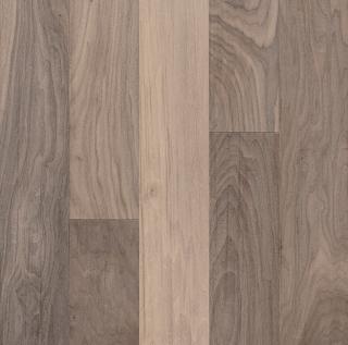"Hartco - American Scrape 1/2""x5-3/4"" Westerly Wind Walnut Engineered Hardwood Flooring w/ Densitek"