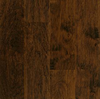 "Hartco - American Scrape 3/8""x5"" Western Mountain Hickory Engineered Hardwood Flooring w/ Densitek"