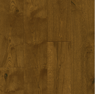 """Hartco - TimberBrushed Gold 1/2"""" thick x 7-1/2"""" wide Deep Etched Dusty Ranch White Oak Engineered Hardwood Flooring"""