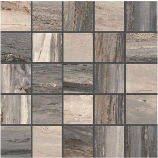 "Happy Floors - Bellagio 2.4""x2.4"" Forest Mosaic Tile (12""x12"" Sheet)"