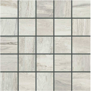 "Happy Floors - Bellagio 2.4""x2.4"" Light Mosaic Tile (12""x12"" Sheet)"
