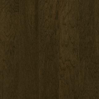 "Hartco - Prime Harvest 3/4"" x 5"" Blackened Brown Solid Hickory Hardwood Flooring"
