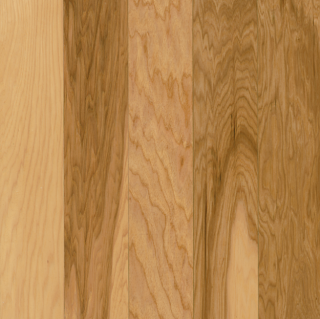 """Hartco - Prime Harvest 3/4"""" x 3-1/4"""" Country Natural Solid Hickory Hardwood Flooring"""