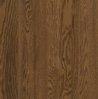 """Hartco - Prime Harvest 3/4"""" x 5"""" Forest Brown Solid Oak Hardwood Flooring"""