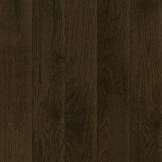 "Hartco - Prime Harvest 3/4"" x 3-1/4"" Blackened Brown Solid Oak Hardwood Flooring (Low Gloss)"