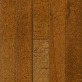 """Hartco - Prime Harvest 3/4"""" x 3-1/4"""" Spice Brown Solid Maple Hardwood (High Gloss)"""