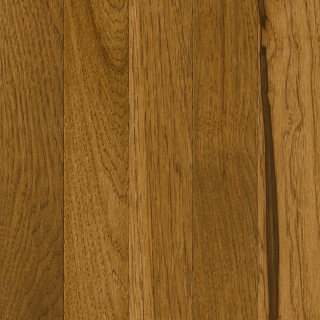 "Hartco - Prime Harvest 3/4"" x 3-1/4"" Sweet Tea Solid Hickory Hardwood Flooring"