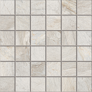 "Happy Floors - 2""x2"" Utah Glacier Mosaic (12""x12"" Sheet)"