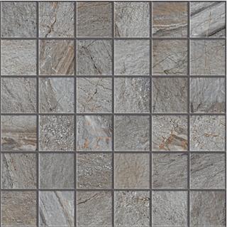 """Happy Floors - 2""""x2"""" Utah Granite Mosaic (12""""x12"""" Sheet)"""