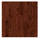 """Bruce - Manchester Red Oak Cherry Prefinished Hardwood (3/4"""" Thick x 3-1/4"""" Wide - High Gloss)"""