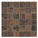 "Faro - 2""x2"" Grand Canyon Marrone Mosaic Tile (11""x11"" Sheet)"