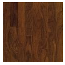 "Bruce - Turlington Lock & Fold Autumn Brown Walnut Engineered Hardwood (3/8"" Thick x 5"" Wide - Medium Gloss)"