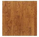 "Bruce - Turlington Lock & Fold Butterscotch Oak Engineered Hardwood (3/8"" Thick x 5"" Wide - Medium Gloss)"