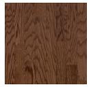 "Bruce - Turlington Lock & Fold Saddle Oak Engineered Hardwood (3/8"" Thick x 3"" Wide - Medium Gloss)"