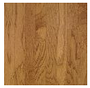 "Bruce - Turlington Lock & Fold Smokey Topaz Hickory Engineered Hardwood (3/8"" Thick x 5"" Wide - Medium Gloss)"