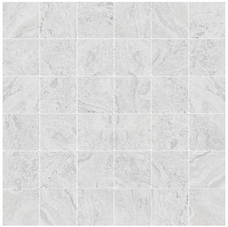 "Happy Floors - 2""x2"" Antalya White Mosaic (12""x12"" Sheet)"