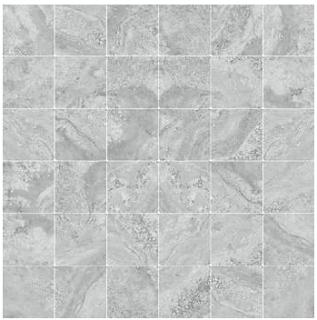 "Happy Floors - 2""x2"" Antalya Grey Mosaic (12""x12"" Sheet)"