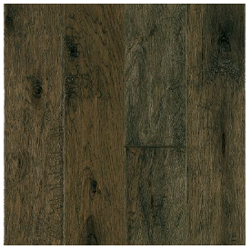 "Hartco - Rural Living Misty Gray 1/2"" Thick x 5"" Wide Hickory Engineered Hardwood Flooring w/ Densitek (Low Gloss)"