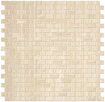 "FAP - 1/2""x7/8"" Roma Travertino Brick Mosaic"