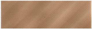 American Olean - Refined Metals 2x8 Bronze Gloss Wave Tile