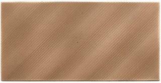 American Olean - Refined Metals 4x8 Bronze Gloss Wave Tile