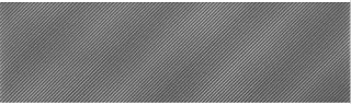 American Olean - Refined Metals 2x8 Gunmetal Gloss Wave Tile