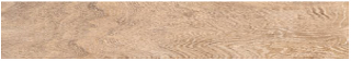 """Happy Floors - 6-1/2""""x40"""" Reserve Fawn Tile (Rectified Edges)"""