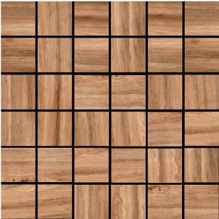 "Happy Floors - 2""x2"" Cypress Bronze Mosaic (12""x12"" Sheet)"