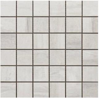 "Happy Floors - 2""x2"" Tivoli Bianco Mosaic (12""x12"" Sheet)"