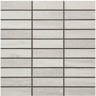 "Happy Floors - 1-1/4""x4"" Tivoli Bianco Mosaic (12""x12"" Sheet)"
