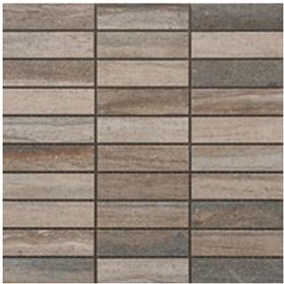 """Happy Floors - 1-1/4""""x4"""" Tivoli Foresta Mosaic (12""""x12"""" Sheet)"""