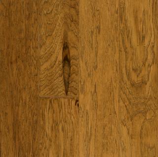 "Hartco - Rural Living Light Chestnut 1/2"" Thick x 5"" Wide Hickory Engineered Hardwood Flooring w/ Densitek (Low Gloss)"