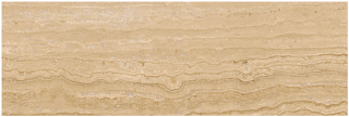 "3""x9"" Siena Avorio Veincut Filled & Polished Travertine Tile 73-075"