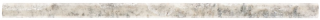 "5/8""x12"" Silver Ash Veincut Polished Travertine Contempo Mini Pencil 77-413"