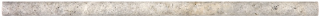 "5/8""x12"" Silver Ash Honed Travertine Mini Pencil 77-390"