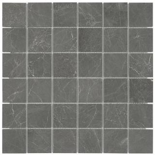 "2""x2"" Stark Carbon Polished Marble Mosaic Tile 76-417"