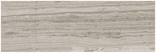 "3""x9"" Strada Mist Veincut Polished Marble Tile 72-079"