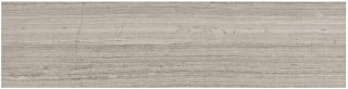 "6""x24"" Strada Mist Veincut Polished Marble Tile 72-603"